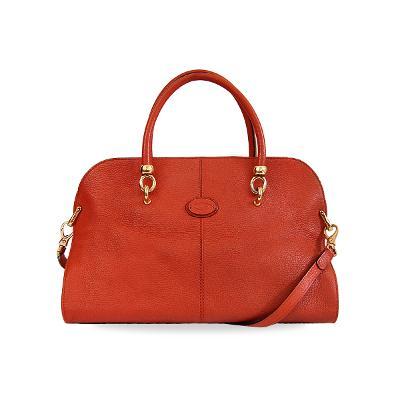 leather sella bowler bag